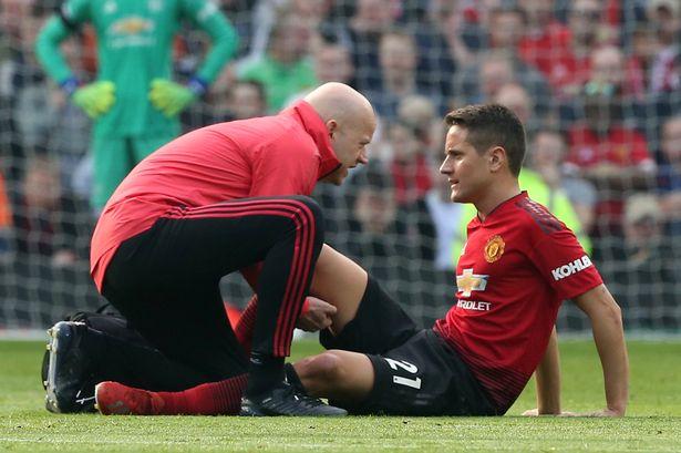 Herrera injured for man utd