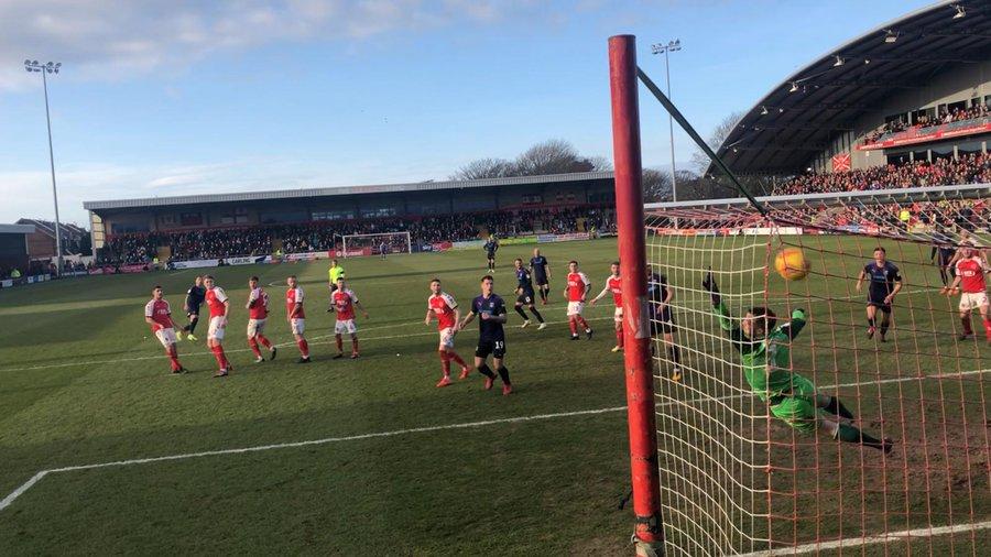 Luton town go twenty games unbeaten