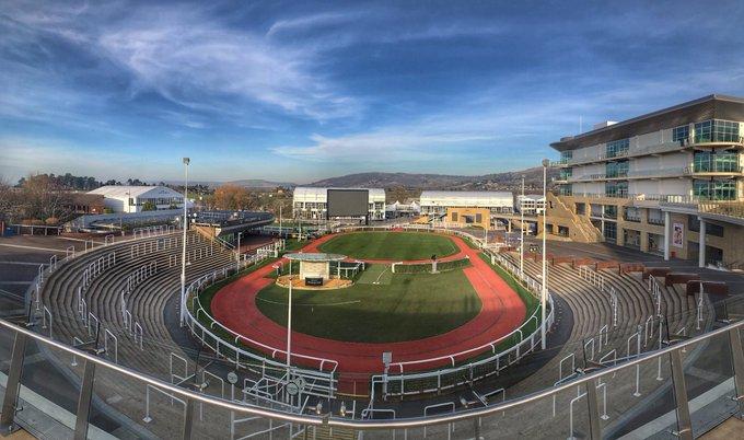 Cheltenham racecourse paddock