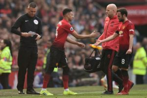 Man Utd injuries pile up against liverpool