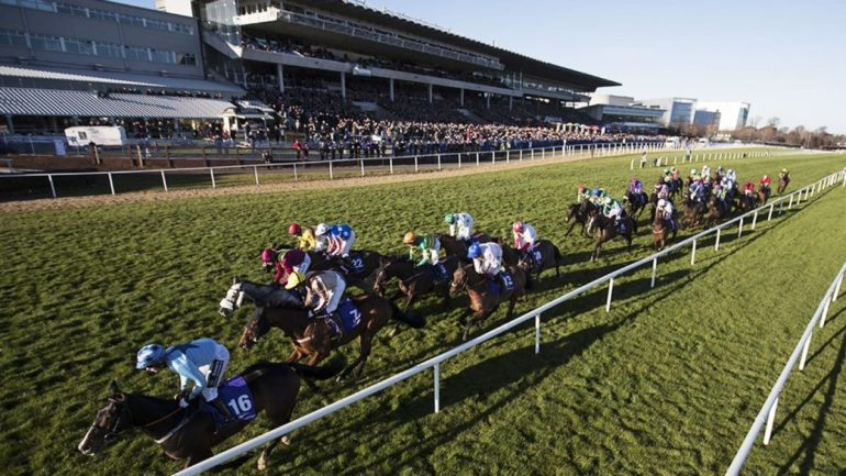 photo of racing at leopardstown by james stevens