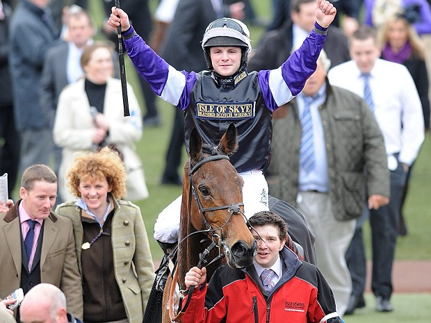 brindisi breeze wins albert bartlet cheltenham 2012
