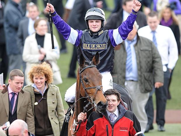 brindisi breeze wins albert bartlet cheltenham 2012