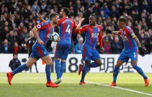 crystal palace beat huddersfield