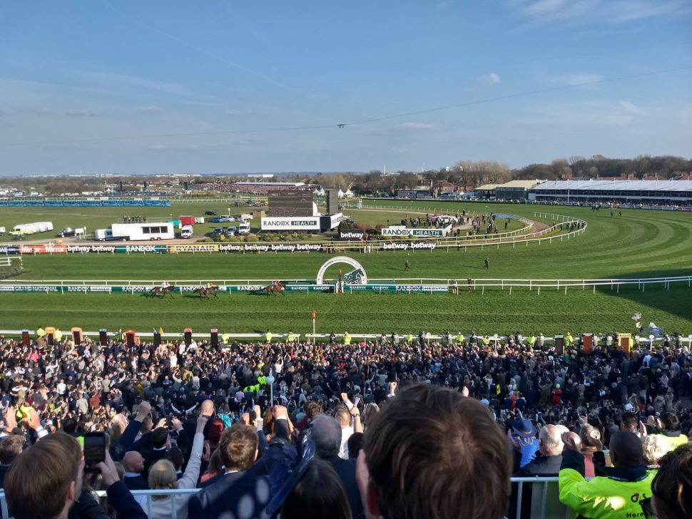 Finish of the 2019 grand national