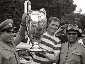 Billy McNeill. Celtic legend. The heart of the lions of Lisbon