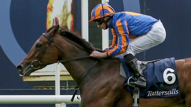 hermosa wins the 1000 Guineas