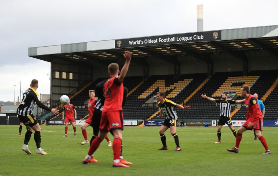 notts county drop out of the league