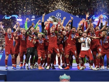 Liverpool win the the Champions League final. Post match reaction