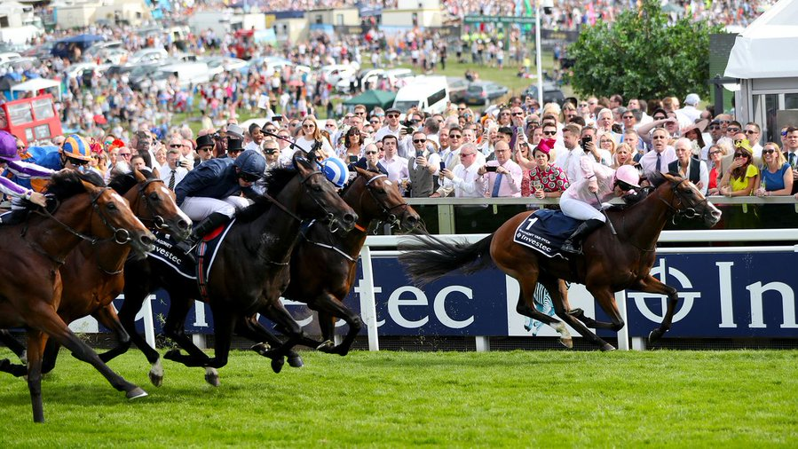 anthony van dyck wins the epsom derby