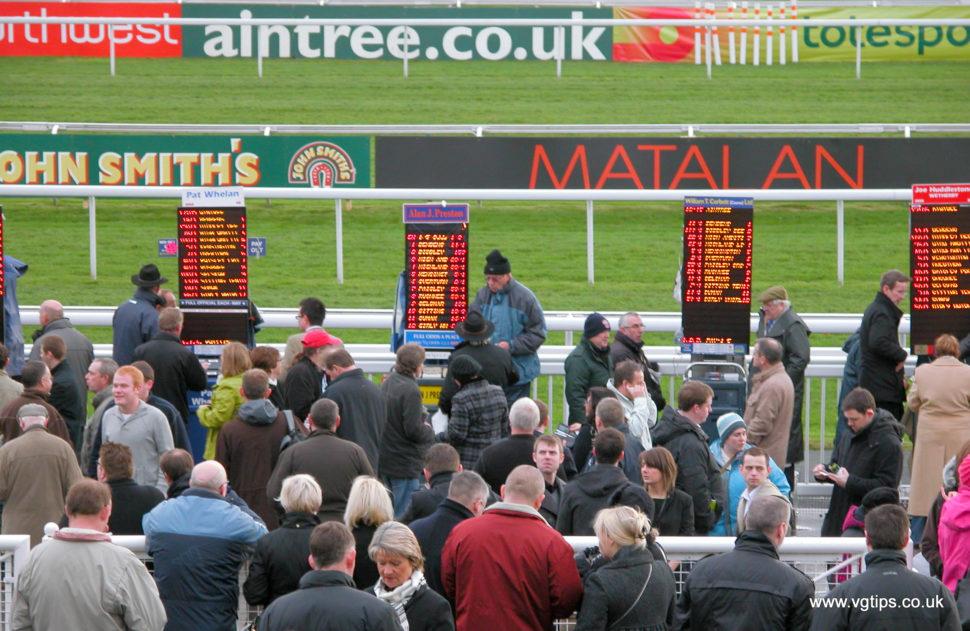 aintree racecourse bookies by vernon