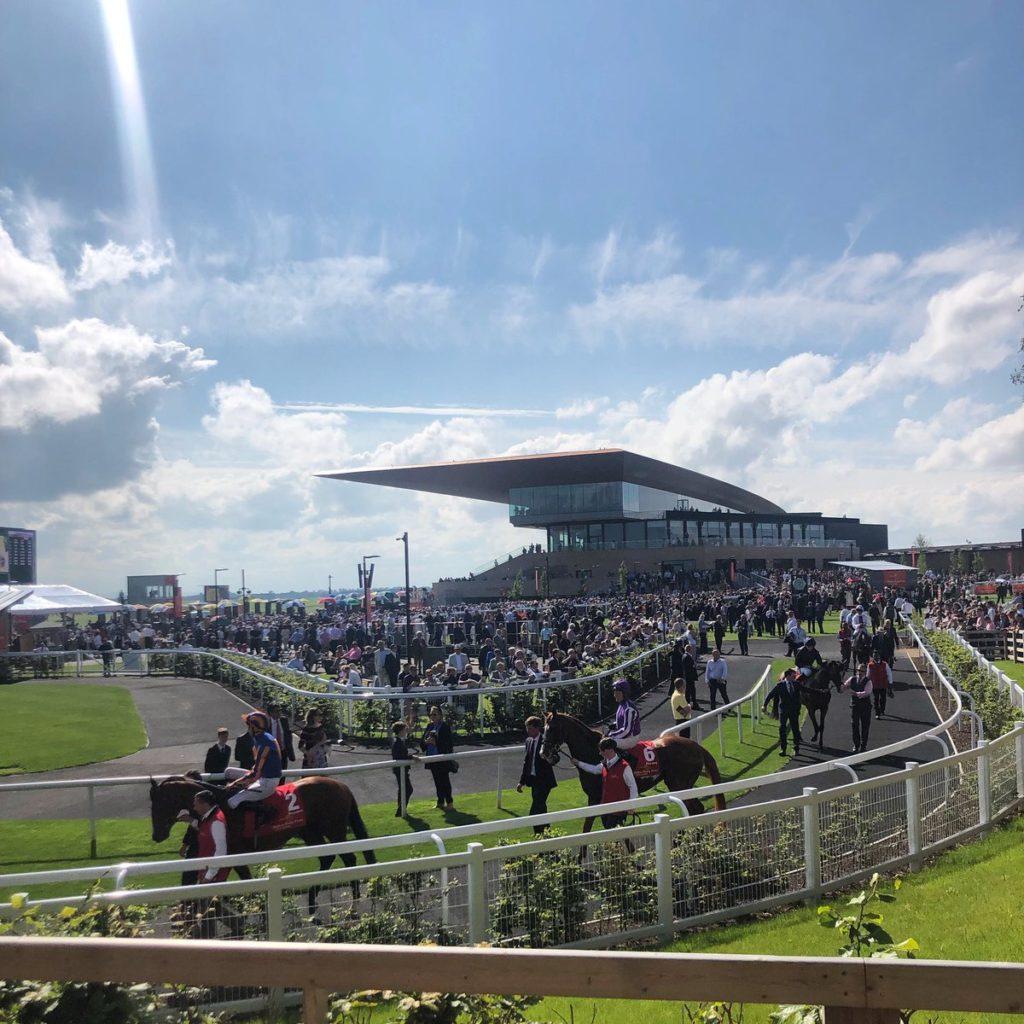 curragh racecourse photo sunny day