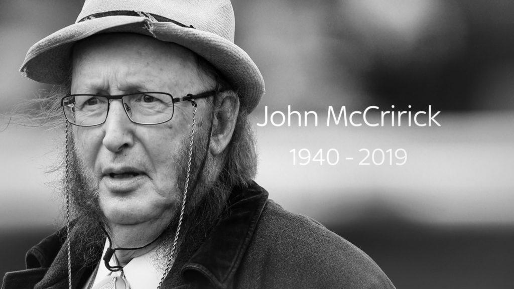 john mccririck black and white