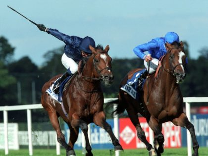 The best ever Irish Champion Stakes. Fantastic Light v Galileo