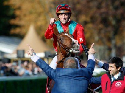 Watch Waldgeist win the Prix de l'Arc de Triomphe
