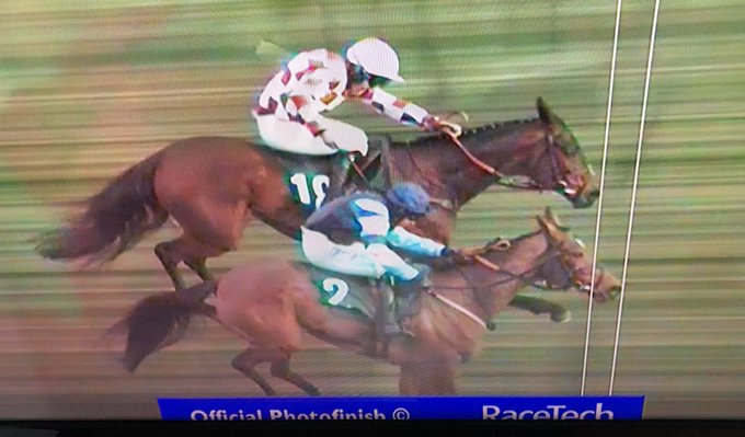 indefatigable photo finish