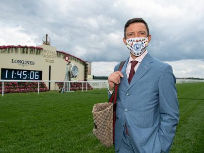 Frankie Dettori. We'll miss him when he's gone.