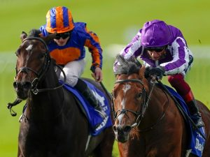 Watch St Mark's Basilica win the Dewhurst Stakes