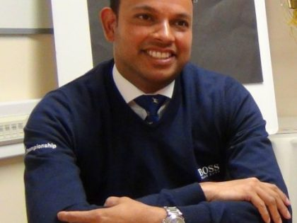 Rishi Persad on diversity: Racing is behind the times