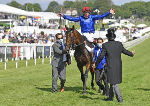 adam kirby wins the derby