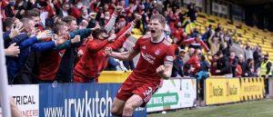 Aberdeen goal at livingston