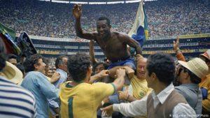 Pele photo 1970 world cup