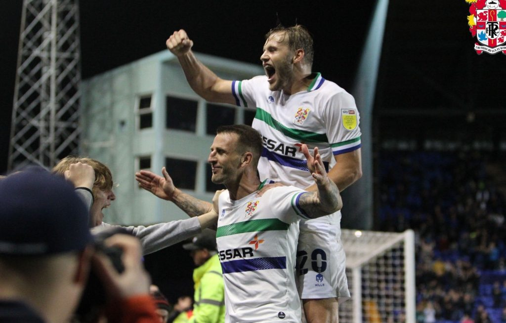transmere rovers beat colchester