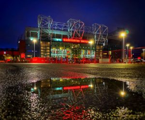 old trafford plus puddle by chris johnson